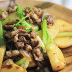 豚肉とかぶの 生姜炒め ~ このレシピは糖質10g以下です!