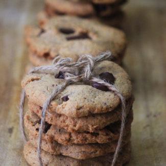 チョコチップクッキー (小麦粉・砂糖不使用)