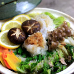 白菜と豚バラのミルフィーユ鍋