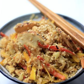 カリフラワーライスの松茸ご飯(糖質オフ)