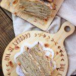 ガトーインビジブル(フランスの林檎ケーキ)