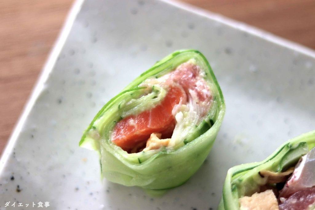 ダイエット食事・糖質オフ寿司・このレシピを参考に料理を作れば、必要以上に糖質量をオーバーしてしまうことはありませんし、安心して糖質制限ダイエットを続けることが出来ます!