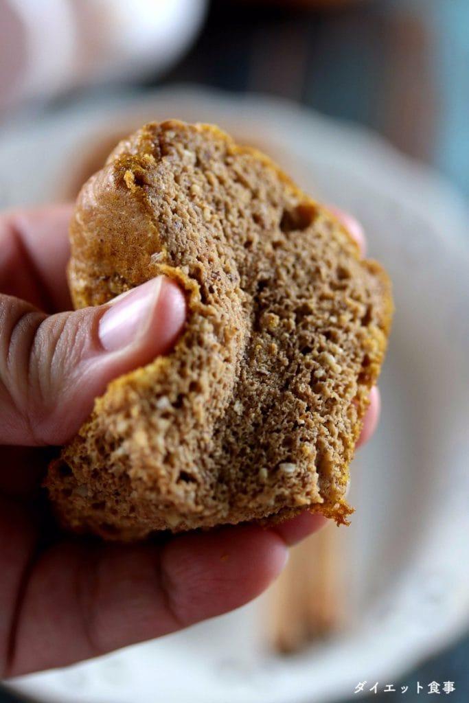 かぼちゃマフィン・うちのダイエット食事・しっとりパンプキンマフィン