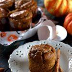 かぼちゃマフィン・うちのダイエット食事・グルテンフリーパンプキンマフィン