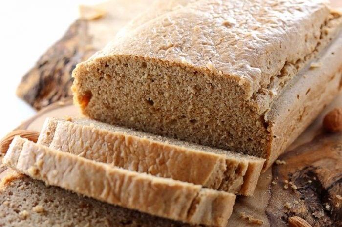 糖質オフアーモンドバターのパン