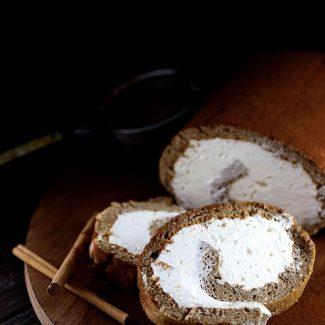 ジンジャーブレッドロールケーキのレシピ