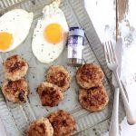 朝ごはんにキャラウェイ入りハンバーグのレシピ