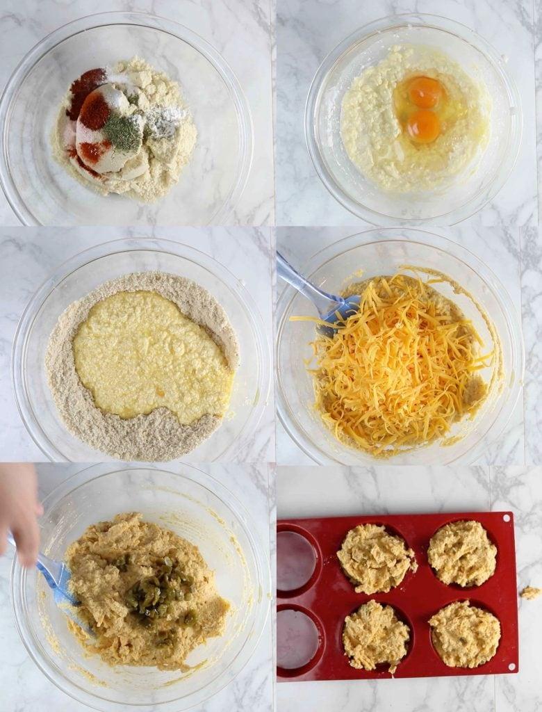 もちもちチーズパン・うちのダイエット食事・チーズパンの作り方