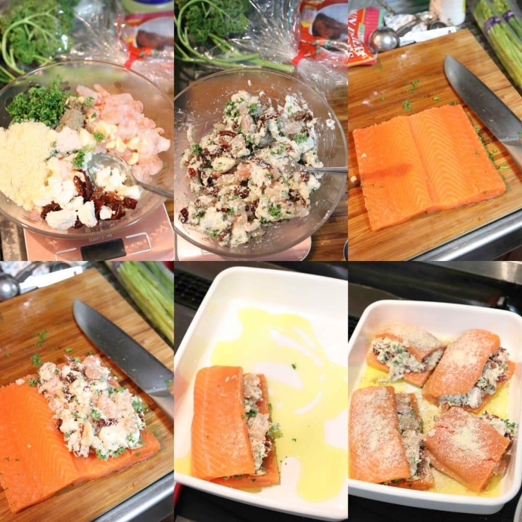 サーモンのオーブン焼きの作り方