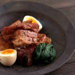 簡単な豚の角煮のレシピはラカントで甘くしました。