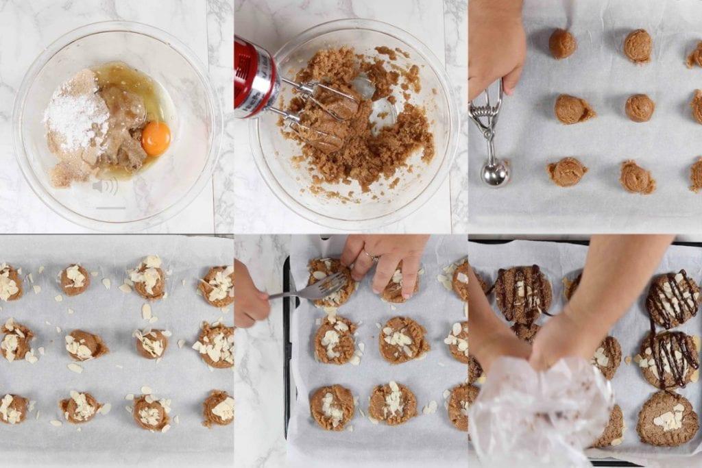 アーモンドクッキーの作り方