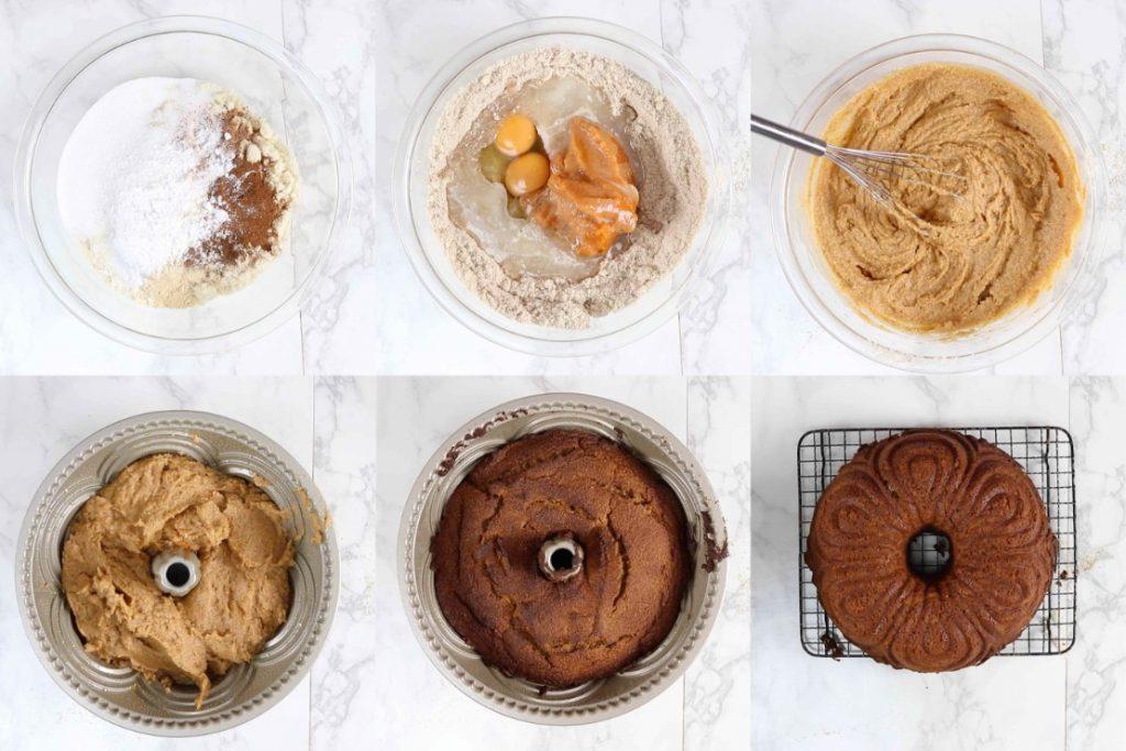 バントケーキの作り方の写真