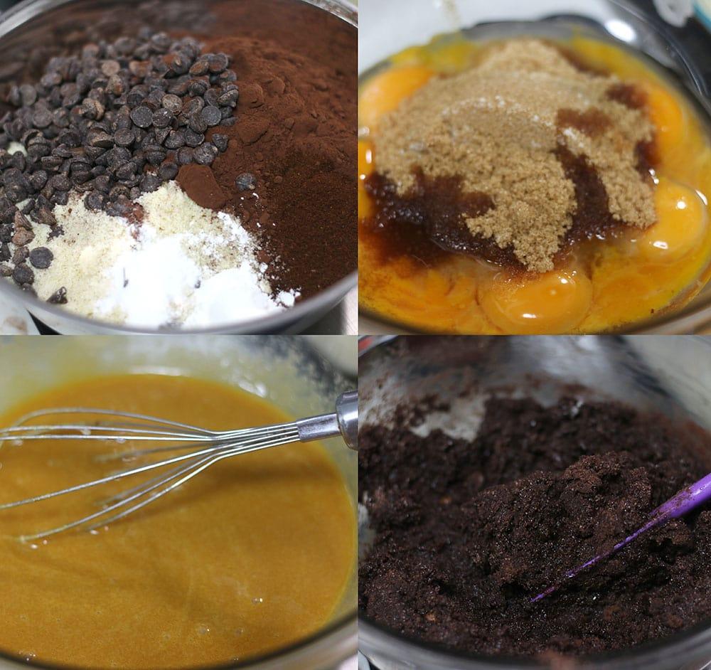 フォレノワールのケーキの作り方の写真です