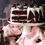 糖質制限ブラックフォレストケーキのレシピ(シュヴァルツヴェルダー・キルシュトルテ)